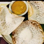 Aappam With Chicken Curry