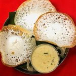 Aappam With Mutton Curry